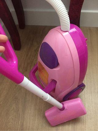 Aspirador juguete ruido
