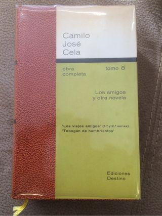 Tomo 8 de la Obra completa de Camilo José Cela