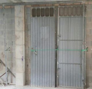 Puerta metalica galvaniza