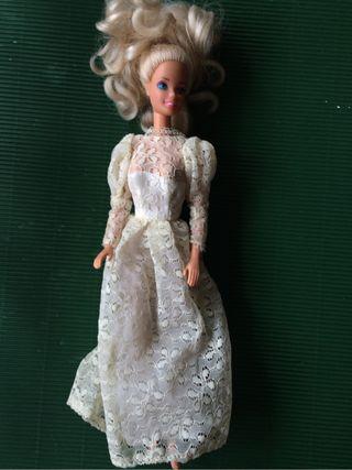 Barbie boda antigua