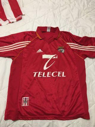 Camiseta Futbol Benfica 98/99