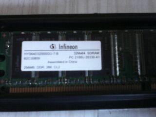 REGALO memoria RAM 256MB DDR266 marca Infineon