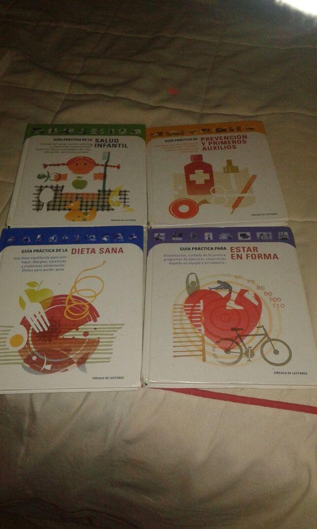 Libros de dietas, salud..