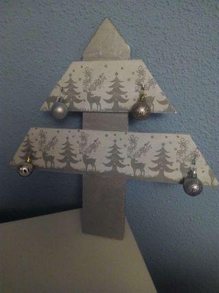 Arbol de navidad hecho a mano
