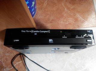 Reproductor DVD-USB funcionando