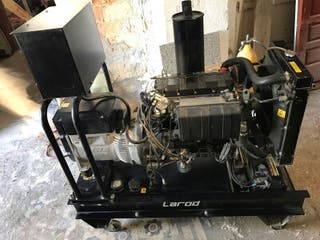 Generador eléctrico diésel Lombardini