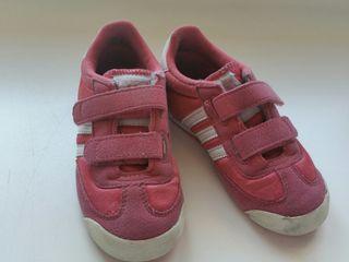 zapatillas niña numero 24 adidas