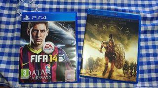 PLAYSTATION 4 + Dualshock 4 + Fifa 14