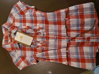 Camisa de mayoral nueva talla 6