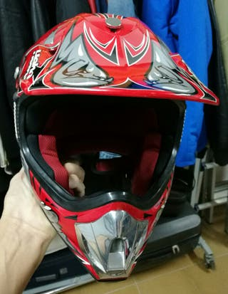 Casco motocross Hebo junior