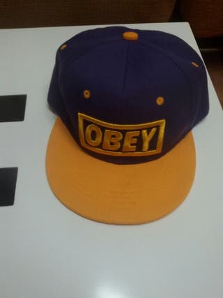 Gorras Obey y NY