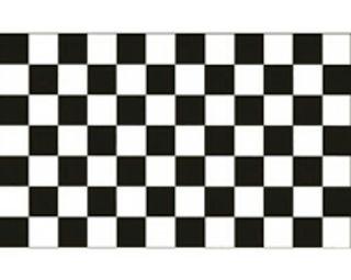 Vinilo bandera de cuadros