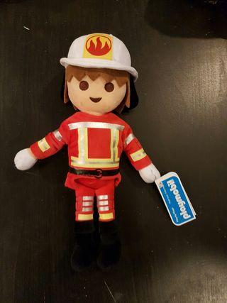 Playmobil peluche bombero de segunda mano por 10 75 en for Playmobil segunda mano