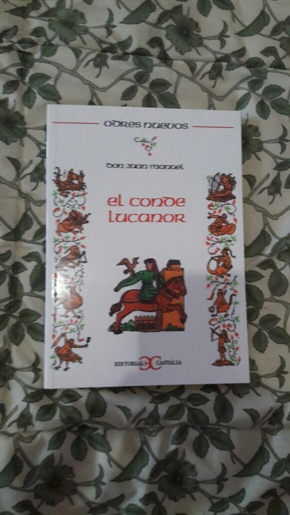 Libro: El Conde Lucanor de Don Juan Manuel