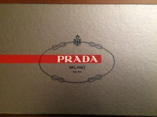 PRADA , bonitas sandalias mujer T 39/40