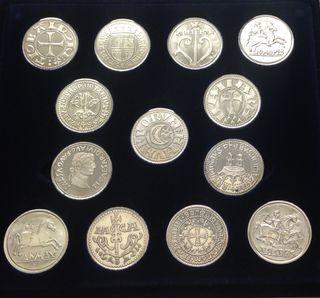 ARRAS - Monedas acuñadas en plata Reino de Navarra