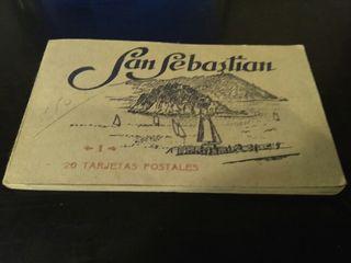 San Sebastian. 20 tarjetas postales antiguas