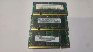 Memoria ram 1Gb PC2-5300S SODIMM