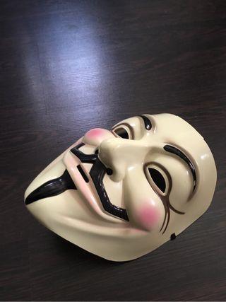 "MÁSCARA ""V de Vendetta"""