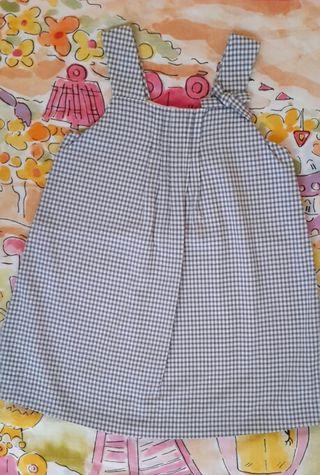 Vestido NUEVO de lino 100% de Serri. Talla 4 años