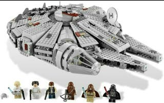 Lego Halcón Milenario