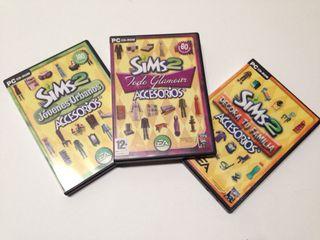 Discos de Accesorios Los Sims 2