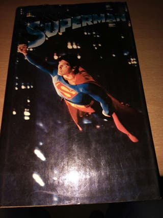 Libro de la pelicula de superman