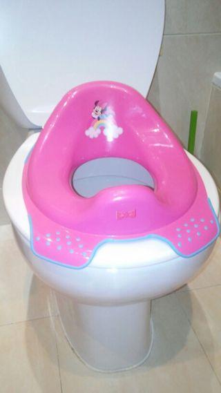 Asiento para wc de niña