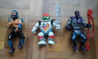 Tortugas Ninja 3 figuras muñecos