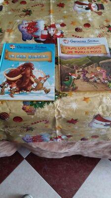 2 libros de Jerónimo Stilton