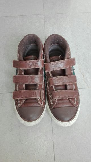 Zapatillas bota CONVERSE de cuero