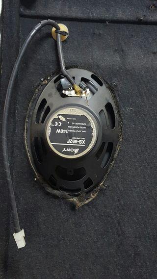 Altavoces Sony 140w