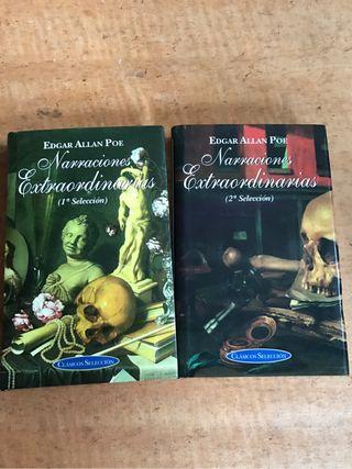 Libros de misterio y terror