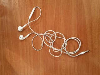 Auriculares I phone con micro y regulador