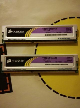 PAREJA DE MEMORIAS DDR3