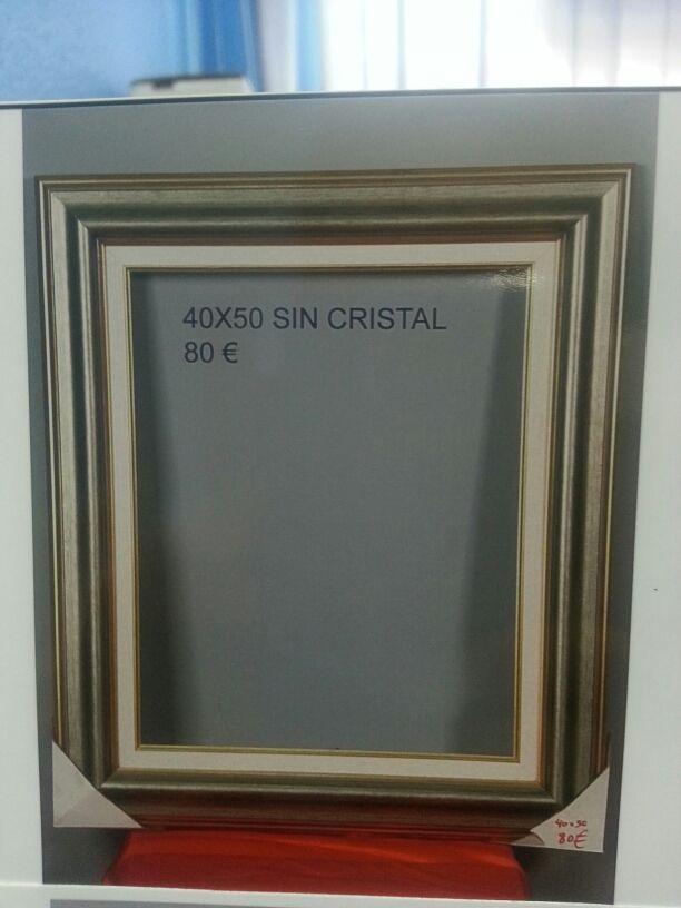 Marco para foto o lienzo 40x50 de segunda mano por 25 € en Valencia ...
