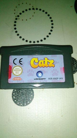 Juego Catz ( game boy advance / sp / ds / dsl )