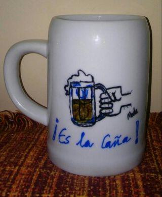 Jarra de cerveza de 1/2 litro