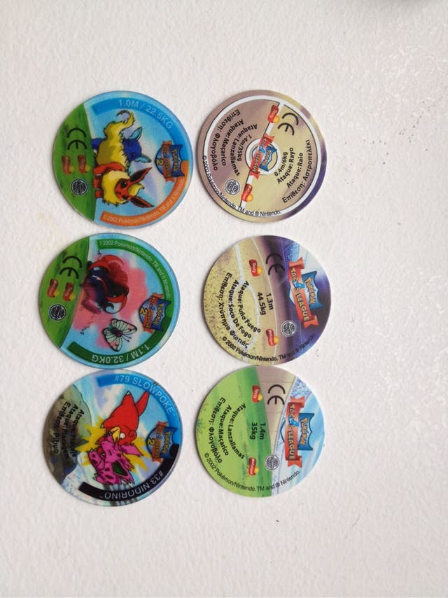 Tazos Pokemon League