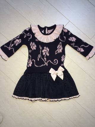 Vestido foque, talla 24 meses