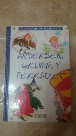 Libro de lectura Andersen, Grimm y Perrault