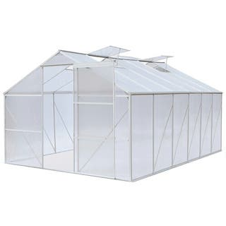 Invernadero policarbonato 370x250x195 cm