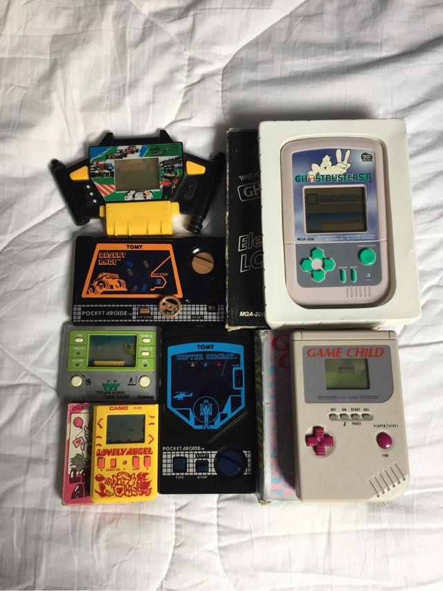 Juegos electrónicos clásicos