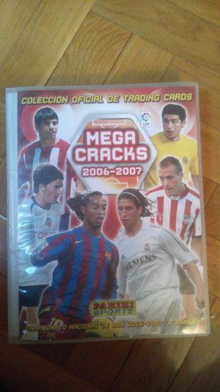 Album cromos futbol MEGACRAKS 06-07