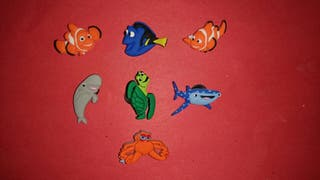 PINS Charms Buscando a Dory Nemo Crocs & Jibbitz