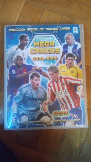 Album cromos futbol MEGACRAKS 05-06