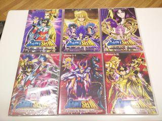 DVDs Saint Seiya Hades Santuario e Infierno DVD