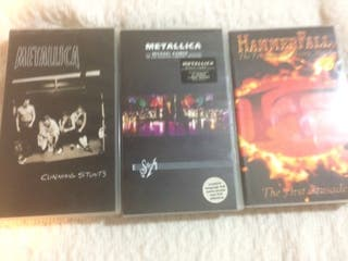 Pack VHS Heavy Metal