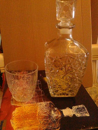 Juego de Whisky 7 piezas nuevo