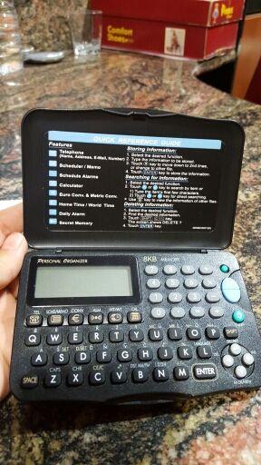Agenda, calculadora.